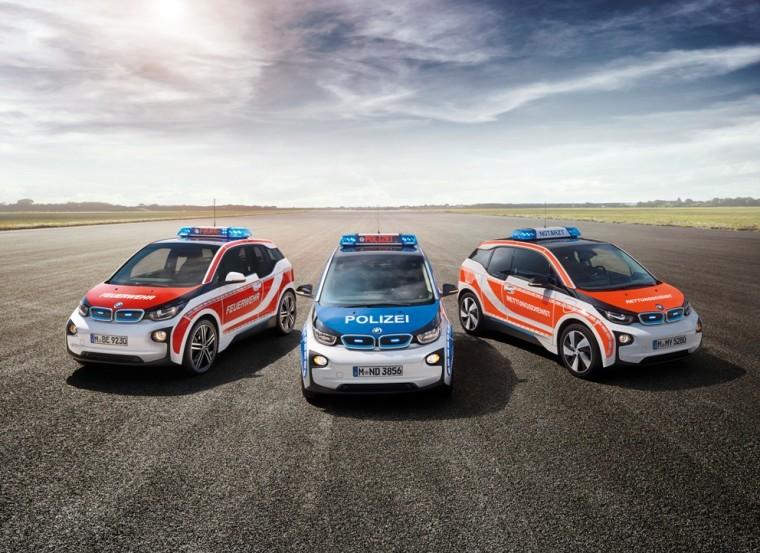 Emergency Response BMW i3