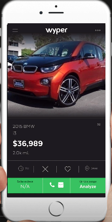 App For Buying Used Car