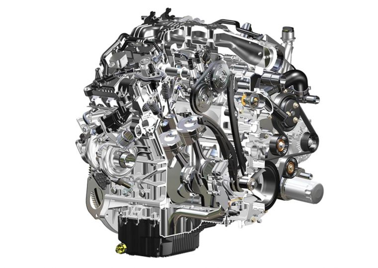 Second-generation 3.5-liter EcoBoost engine 2017 Ford F-150