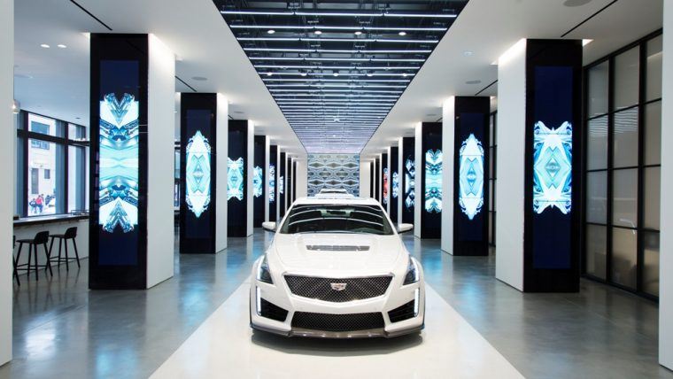 The new Cadillac House in New York City will be open to the public starting June 2nd