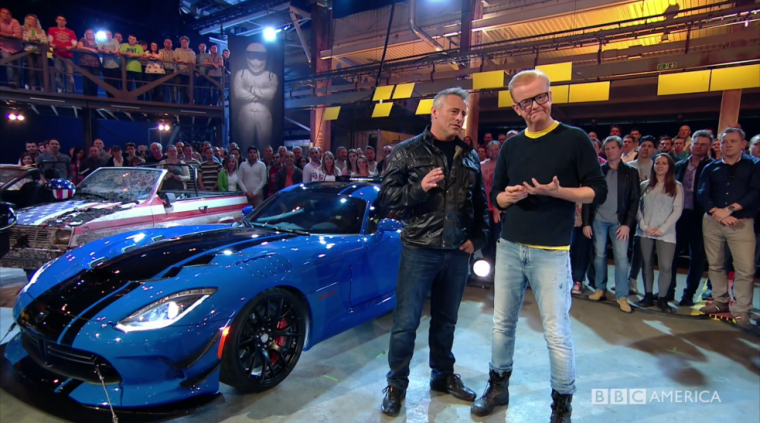 Top Gear Matt LeBlanc Chris Evans