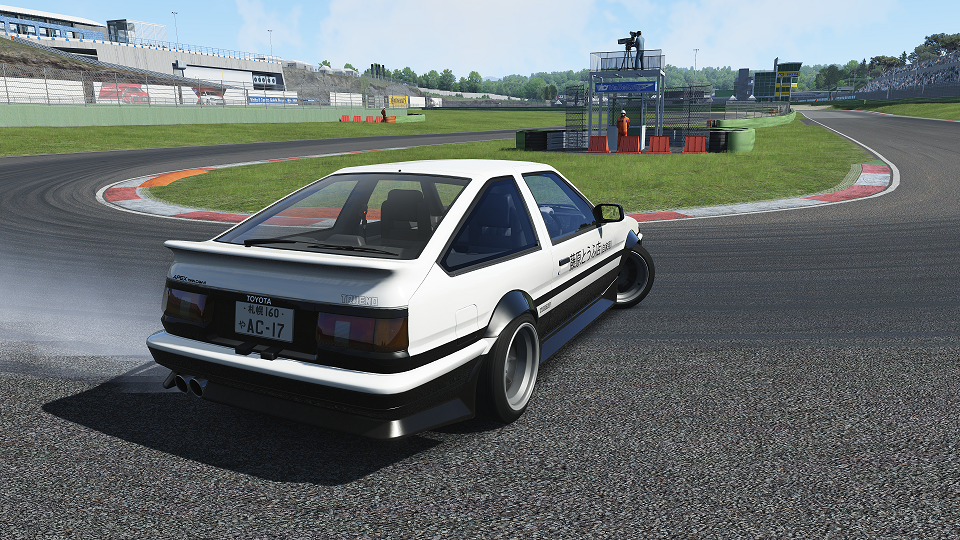 initial d toyota ae86 comes to virtual reality the news wheel. Black Bedroom Furniture Sets. Home Design Ideas