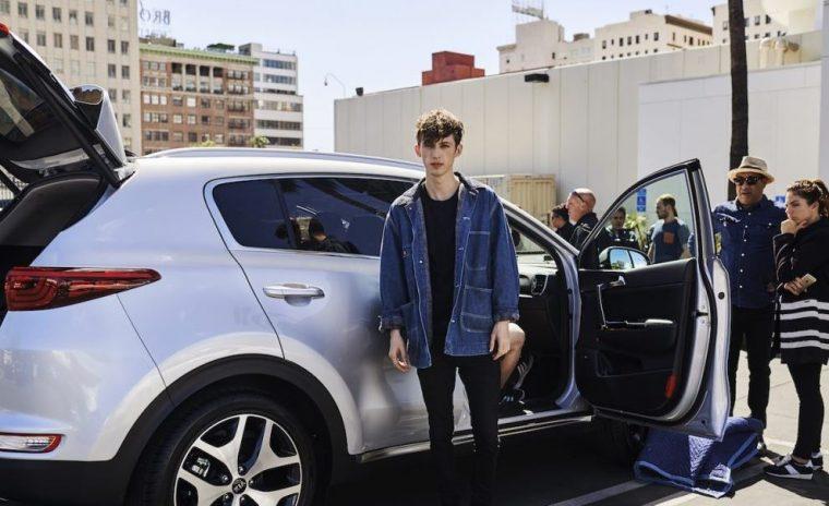 Troye Sivan Kia Sponsorship
