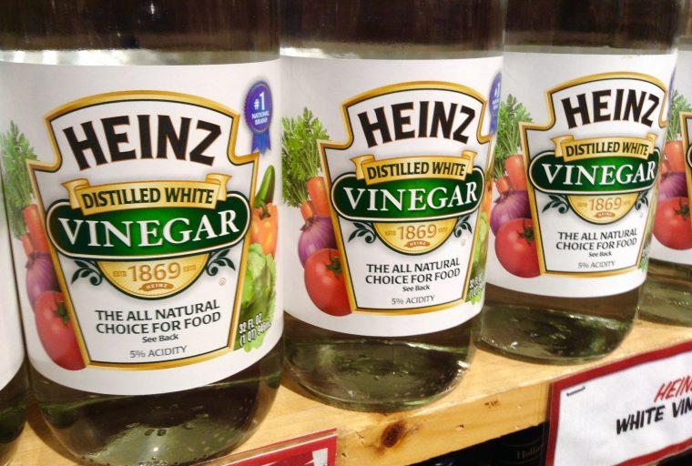 White Vinegar windshield washer