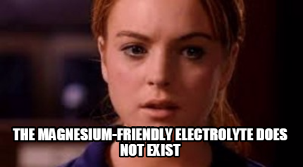 limit does not exist - magnesium batteries