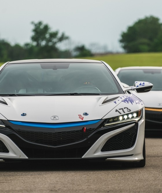 Acura NSX-Inspired EV Concept To Race At Upcoming Pikes