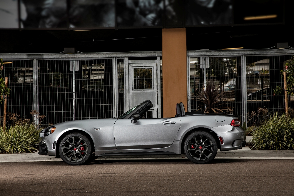 2017 Fiat 124 Spider Overview The News Wheel