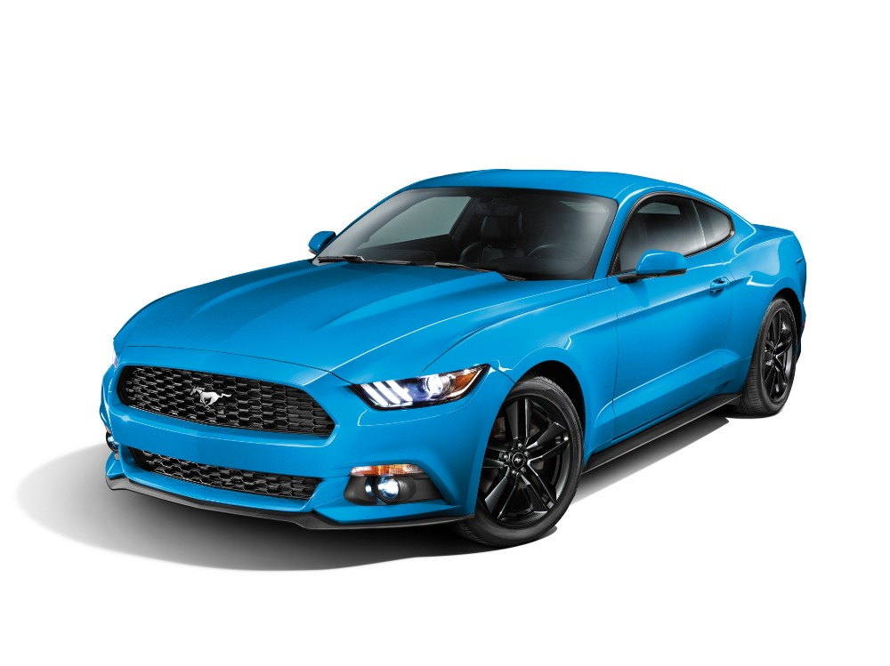 2017 Ford Mustang Blue The News Wheel