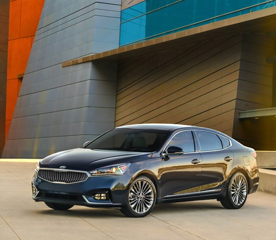 new 2017 kia cadenza brings more luxury to kia s lineup the news wheel. Black Bedroom Furniture Sets. Home Design Ideas