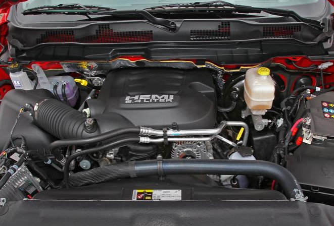 2017 Ram Power Wagon Engine