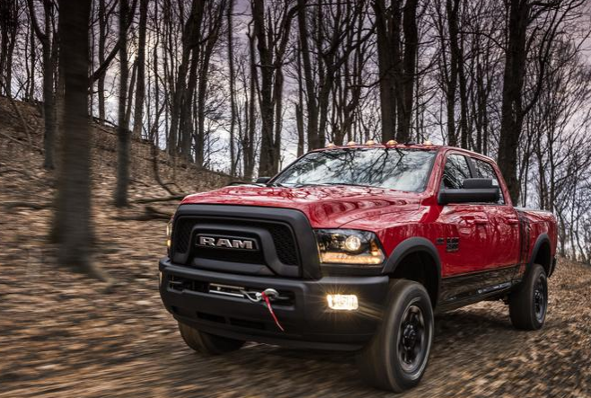 2017 Ram Power Wagon Headlights