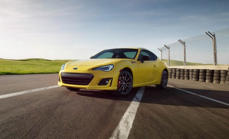 2017 Subaru BRZ Series.Yellow performance