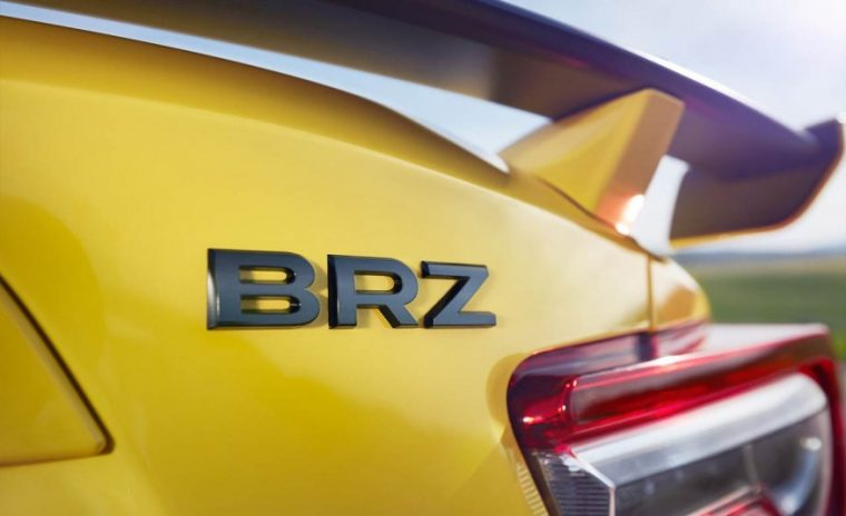 2017 Subaru BRZ Series.Yellow Badge