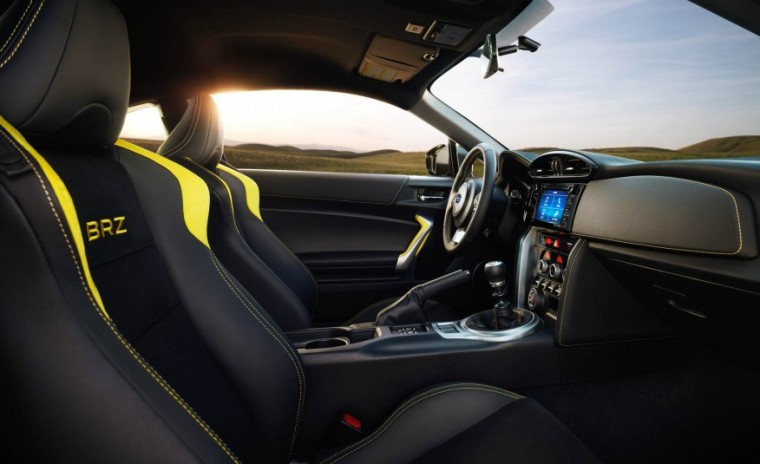 2017 Subaru BRZ Series.Yellow Interior