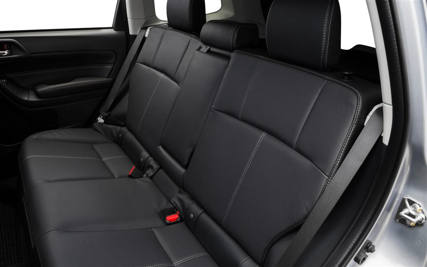 2017 Subaru Forester Rear Seats The News Wheel