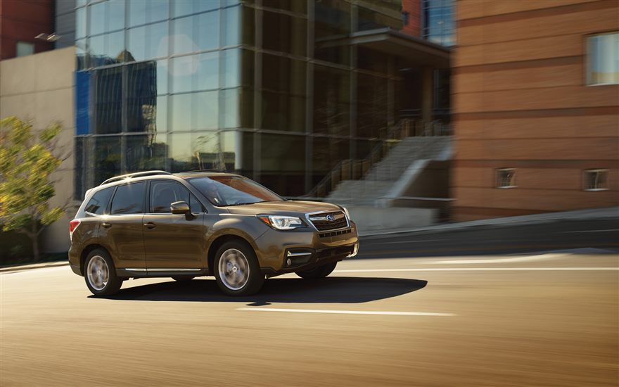 2017 Subaru Forester side view | The News Wheel