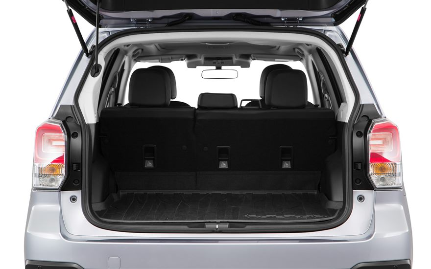 2017 Subaru Forester storage space | The News Wheel