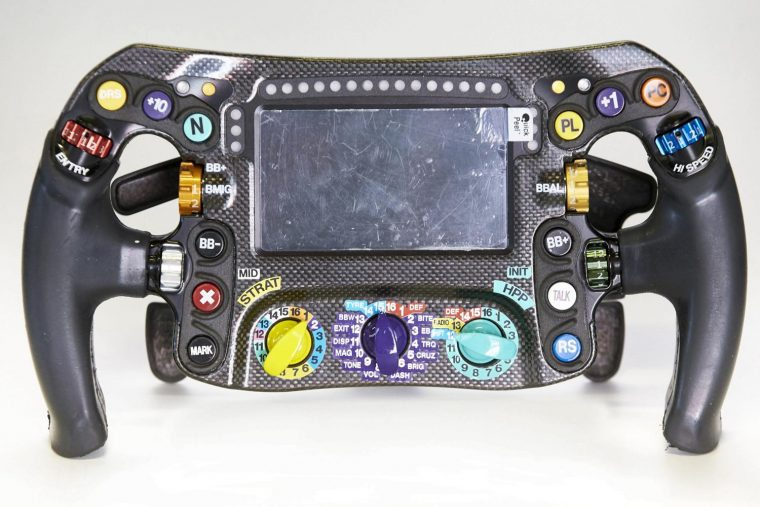 Hamilton's steering wheel