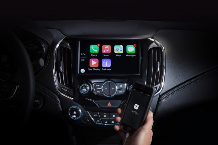 Technology like Apple CarPlay is more important to UK consumers than safety tec