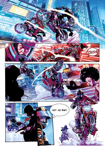 BMW Motorrad Graphic Novel