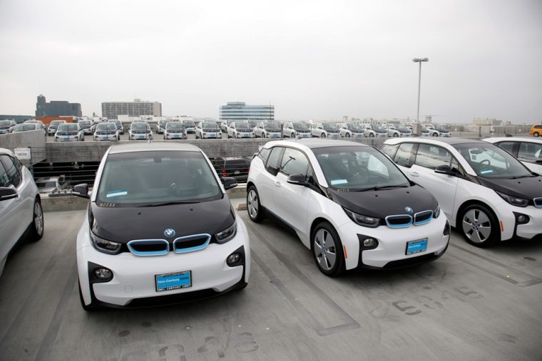 BMW i3 LAPD Vehicles