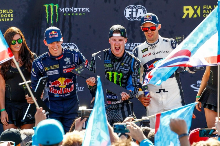 Bakkerud is the first FIA World Rallycross driver to win all four qualifying rounds of an event weekend