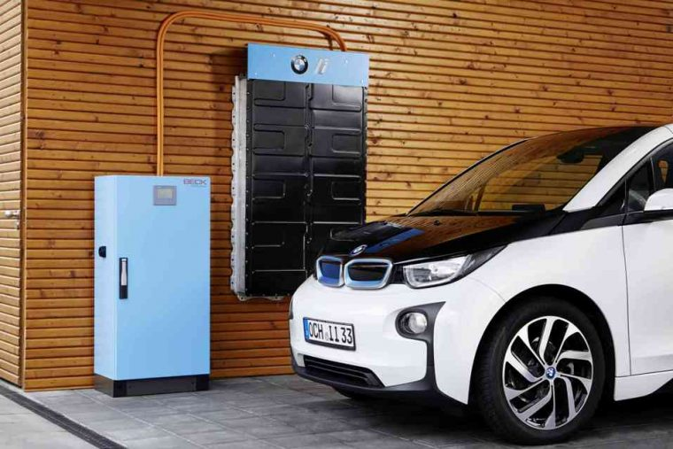 BMW i Series home battery