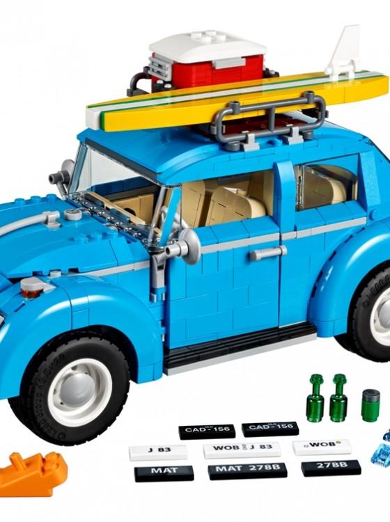 build  bug   vw beetle lego set  ready  roll  news wheel