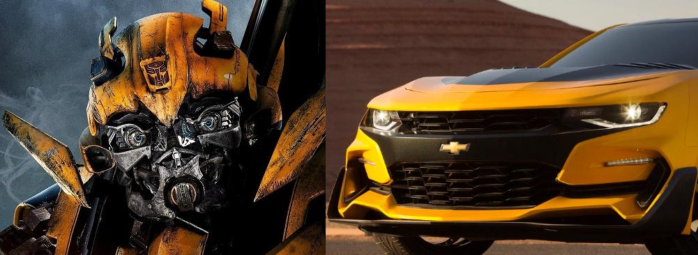 Bumblebee Face Camaro Comparison The News Wheel
