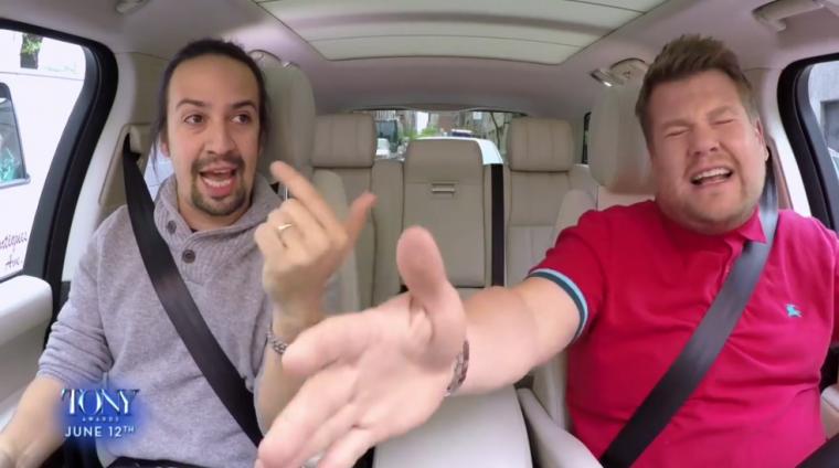 Carpool Karaoke Broadway