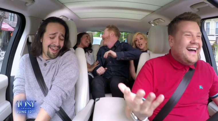 Carpool Karaoke Broadway
