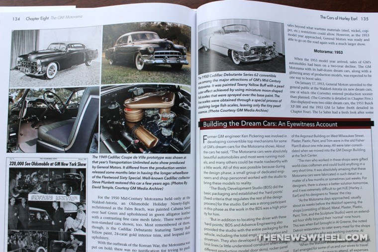 Cars of Harley Earl Book Review David W Temple CarTech pages