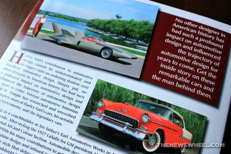 Cars of Harley Earl Book Review David W Temple CarTech synopsis