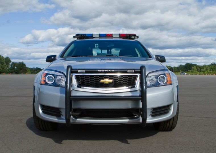 The 2017 Chevy Caprice PPV will come with an 18-inch spare tire and new vinyl-covered back seat