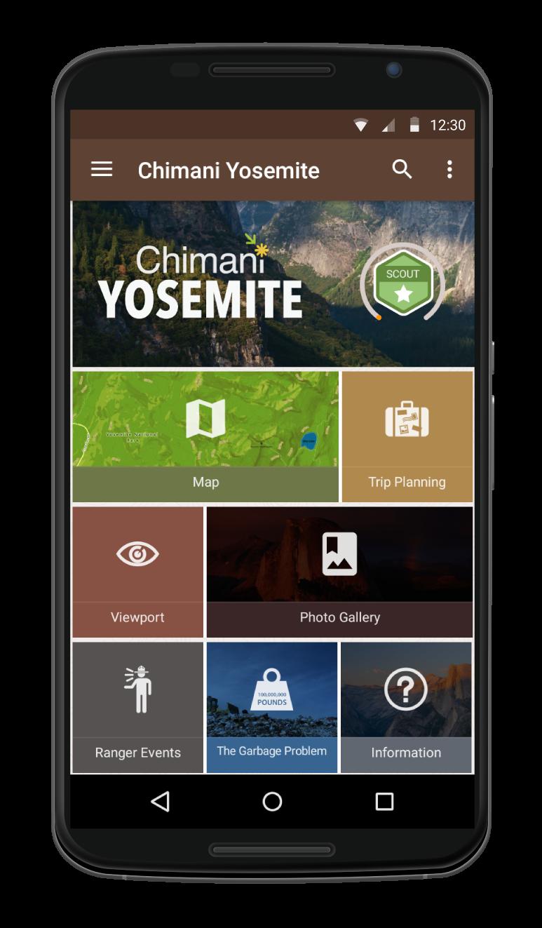 chimani app yosemite