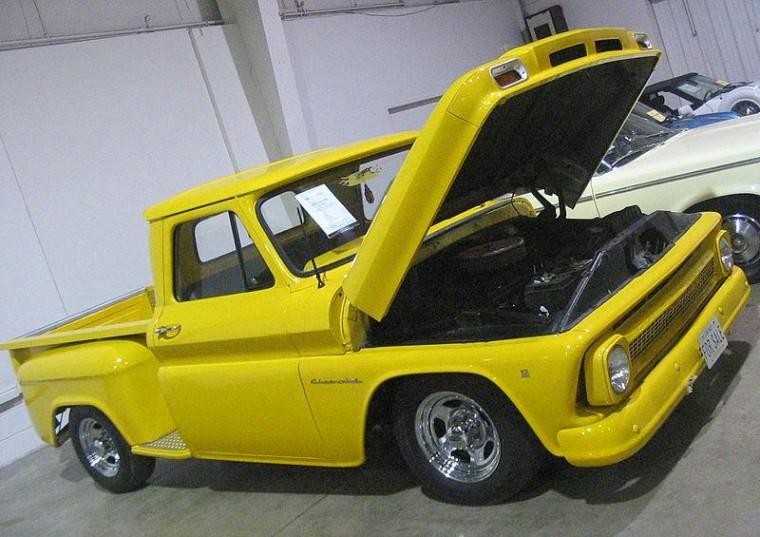 Classic 1966 Chevy C10 truck classic car audio installation