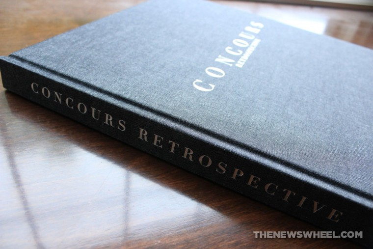 Concours Retrospective book review Coachbuilt Press Richard Adatto binding