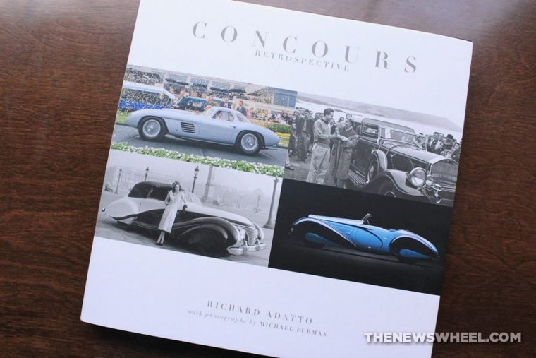 Concours Retrospective book review Coachbuilt Press Richard Adatto cover