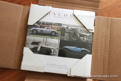 Concours Retrospective book review Coachbuilt Press Richard Adatto packaging