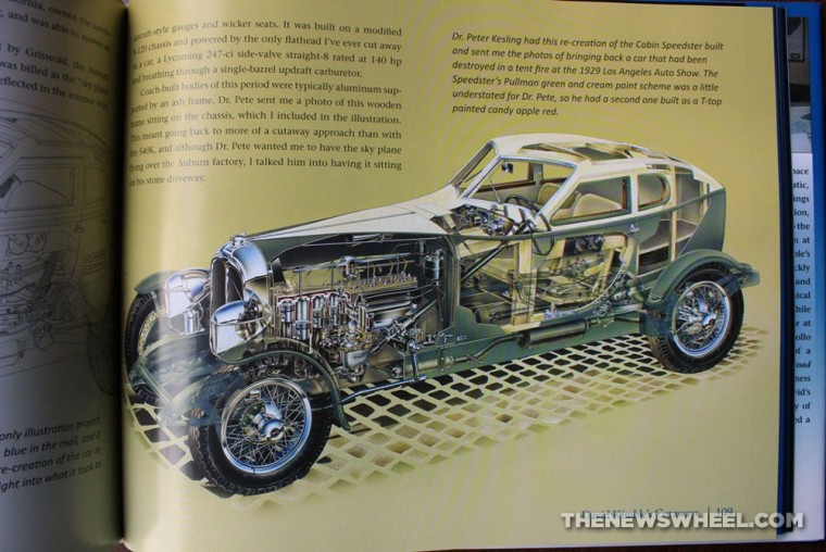 David Kimble's Cutaways book review CarTech art design