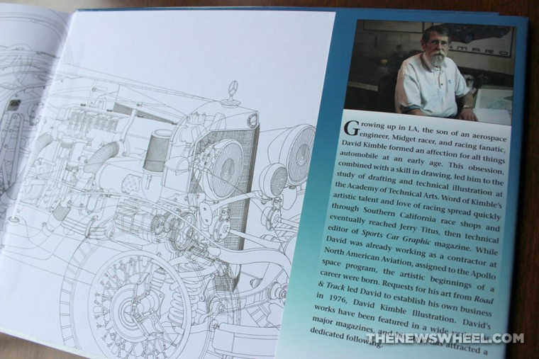 David Kimble's Cutaways book review CarTech author