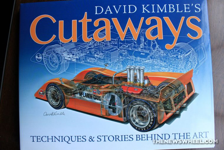 David Kimble's Cutaways book review CarTech cover