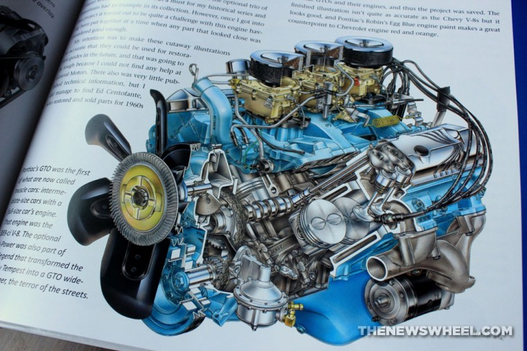 David Kimble's Cutaways book review CarTech engine illustration