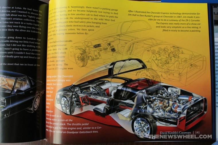 David Kimble's Cutaways book review CarTech pages