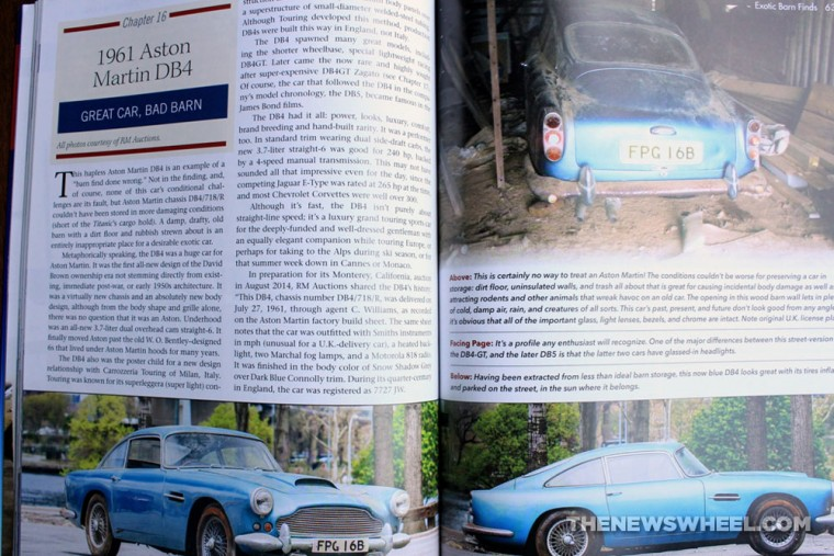 Exotic Barn Finds book review CarTech Matt Stone Aston Martin
