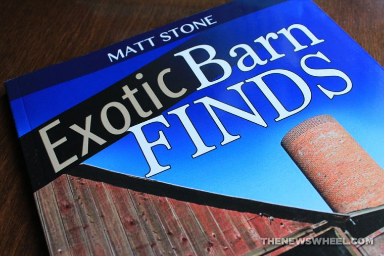 Exotic Barn Finds book review CarTech Matt Stone cover