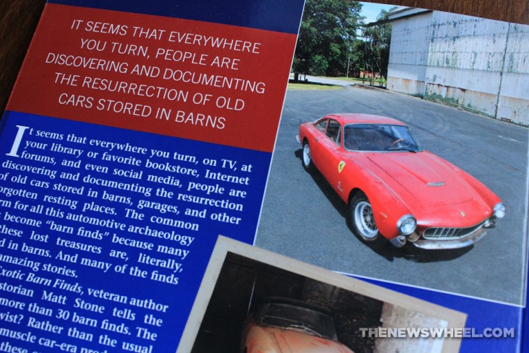 Exotic Barn Finds book review CarTech Matt Stone synopsis