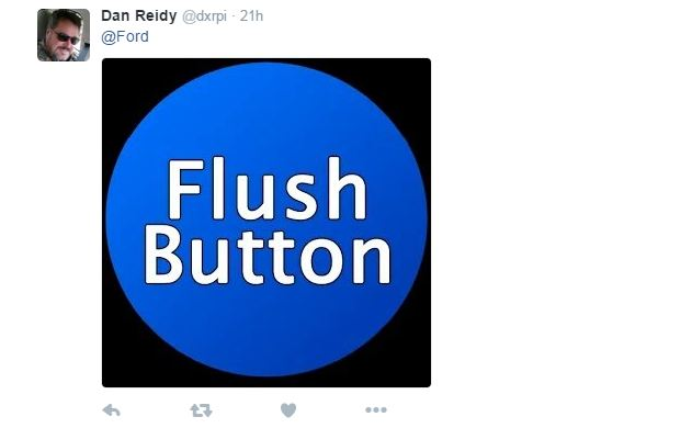 Flush Button