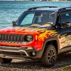 Harley Davidson Jeep Renegade Edition Close Up