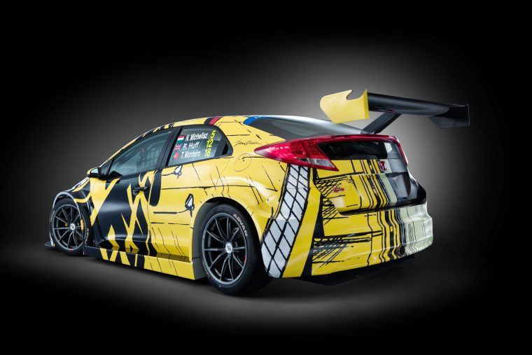 The Honda Art Car Jean Graton